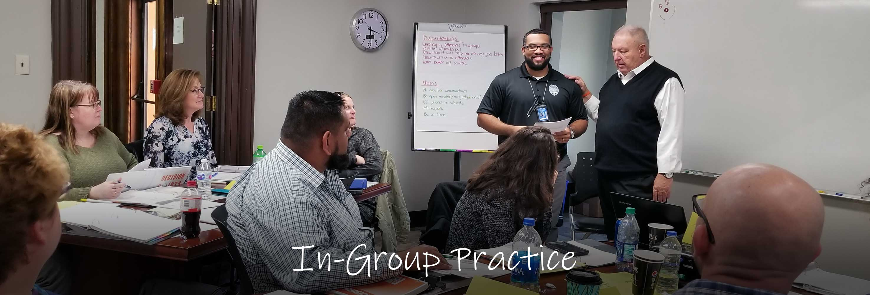In-group practice